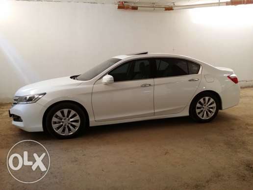 HONDA ACCORD 2016 (05 Years Extended Warranty), v low mileage for sale الرياض -  2