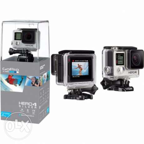 gopro hero 4 silver edition for 850 SAR جدة -  1