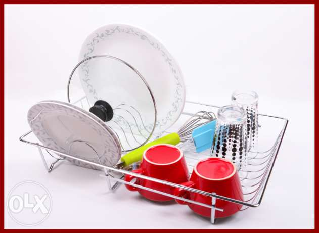 Kitchen Metal Stand - Plates and Accessories الصحن حامل معدني