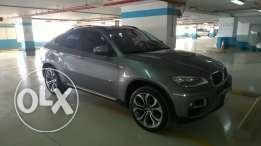 BMW x6 2014 full option barely used