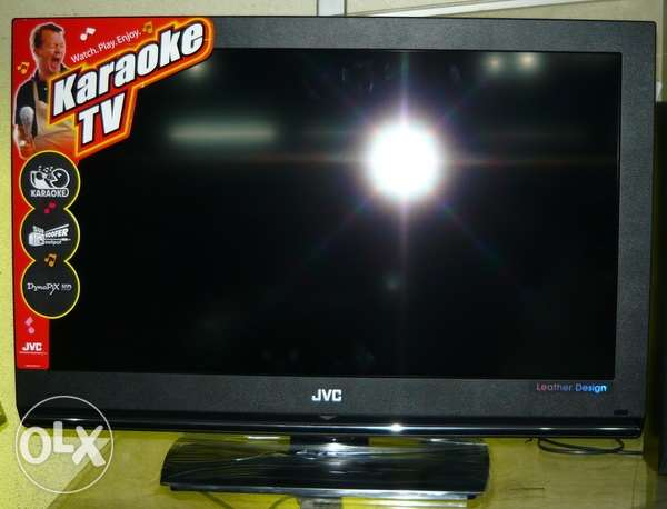 JVC Original TV 42 Inches --- Leather Stylish Design -- Japanese Made