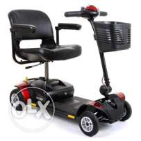 Pride Go Go Elite Traveller Mobility Scooter 4 mph Boot Scooter