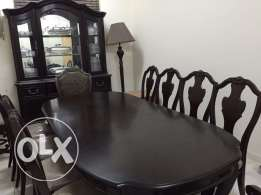 Al Mutlaq - 10 seater Dinning Table with buffet table & Side board