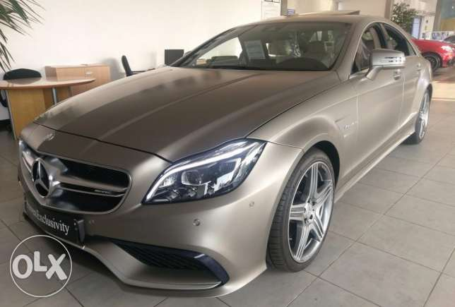 CLS63 AMG 2015