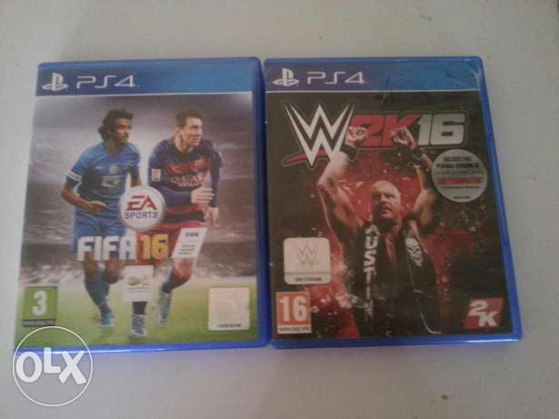 Wwe2k16 and fifa 16