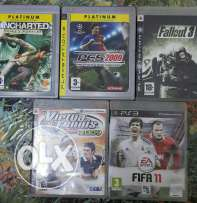 PS3 games varied prices