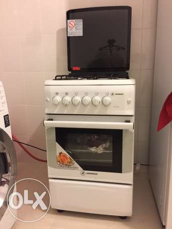 gas stove and gas cylinder