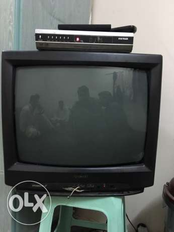 Toshiba 18 inch TV with Star Track Receiver