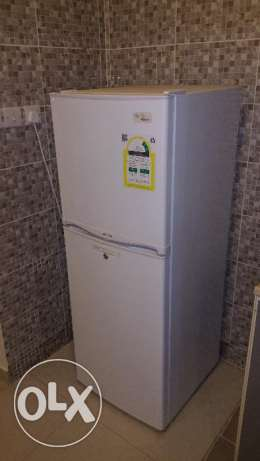 Fridge - EMJOI POWER, White double door 7 Cu.ft -Still under Warrant