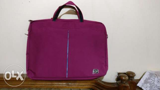 Branded LAptop Bag , lady's color