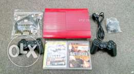 PS3 Red 500gb