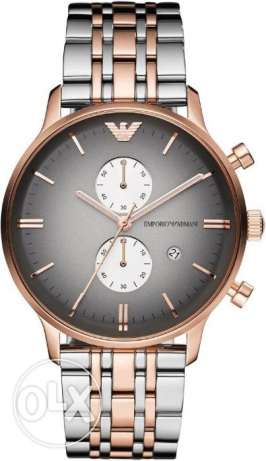 Metal watch - Emprio Armani for men