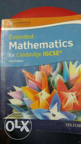Extended Mathematics for Cambridge IGSE