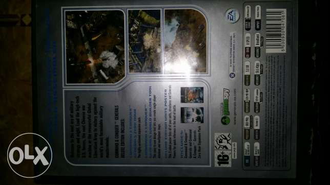 Command conquer generals-deluxe edition 4 games inside the box