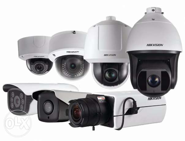 CCTV camera security system full installation