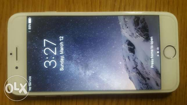 Iphone 6, 64gb silver