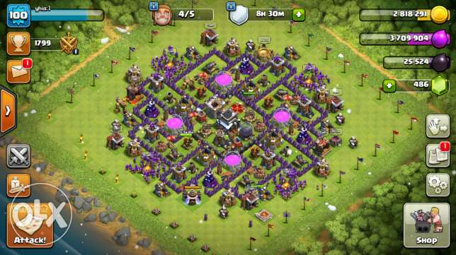 Clash of clans جدة -  1