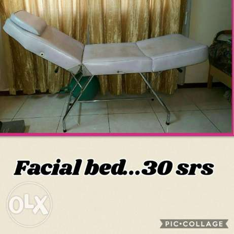Used Facial bed Urgent seller