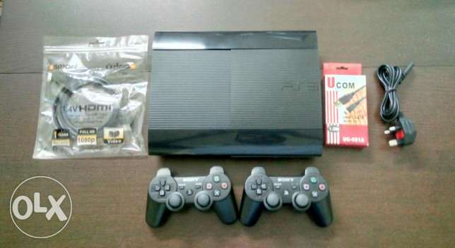 Ps3 500gb w/15 games