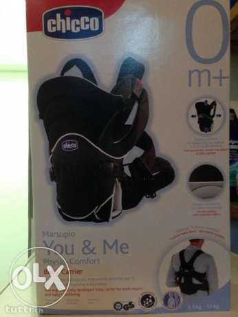chicco double baby carrier, front and back up to 12 kg