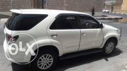 Toyota fortuner available for lease transfer