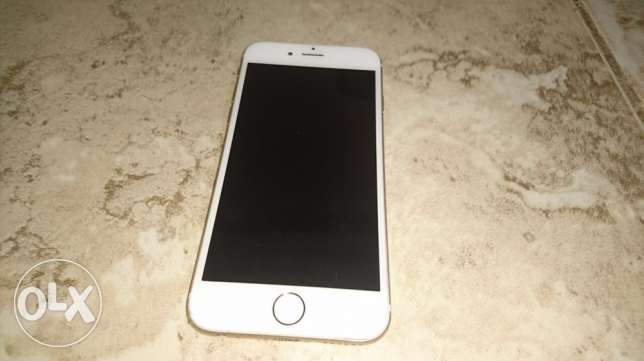 iPhone 6 16 GB with Charge and box and two grabs