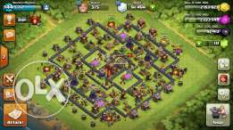 Clash of clans Th 10