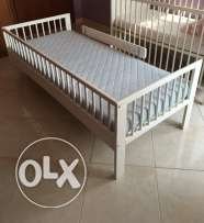IKEA child bed with mattress(not used)