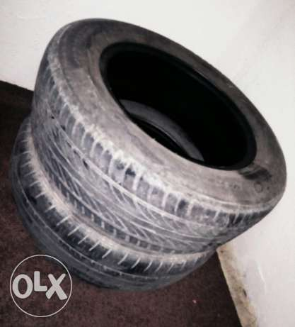 2 Pcs Car Tire Good Condition