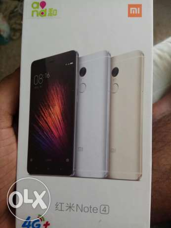 New brand redmi note 4 good condition ram3 64 giga
