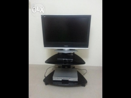 TV 30 inch pansonic and humax reciver and dvd samsung تلفزيون