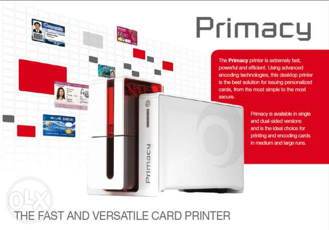 Heavy Duty french ID card Printers For Companies,hospitals,industries