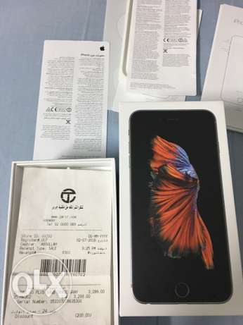iphone 6s+ 64gb black edition in brand new condition sale or exchange الرياض -  1
