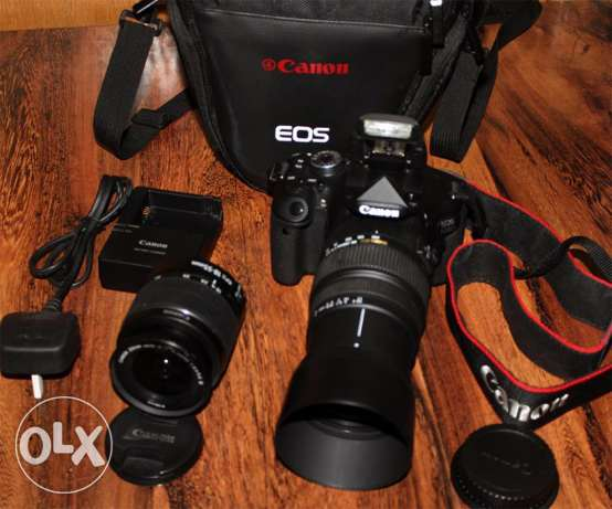 Camera canon 600d zoom50-200mm digital prof. for sale