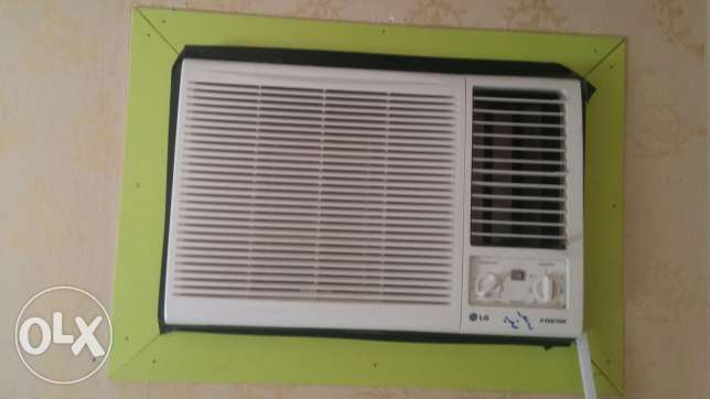 LG window 18000 btu hot and cold .under warranty الرياض -  1