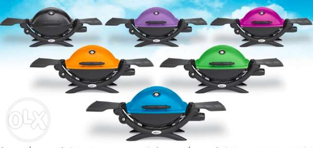 A Brand New Weber Barbecue Grill Gas