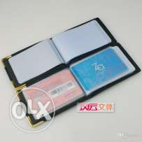 Leather Covered Iqama & License Card Holder