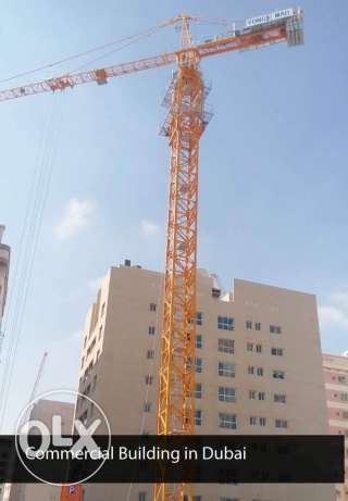 Tower cranes 12 pcs