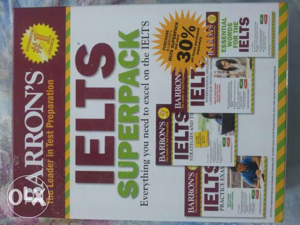 IELTS Super Pack by BARRON