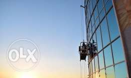 SECURE GLASS & BUILDING Cleaning // CRADLE Rental Services