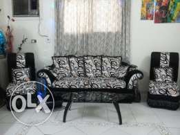 excellent condition one year old furniture for urgent sale due to EXIT
