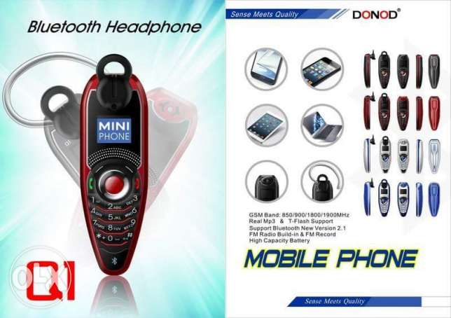 Bluetooth mini phone الرياض -  2