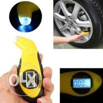 LCD Digital Tire Air Pressure Gauge Tester Tool For Auto Car Moto