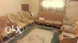 Sofa set for 8 persons