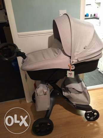 3 in 1 Stokke Xplory V5 with summer, winter kits