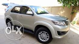 Toyota Fortuner 2014 under factory warranty