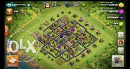 قرية كلاش اوف كلانس - clash of clans village