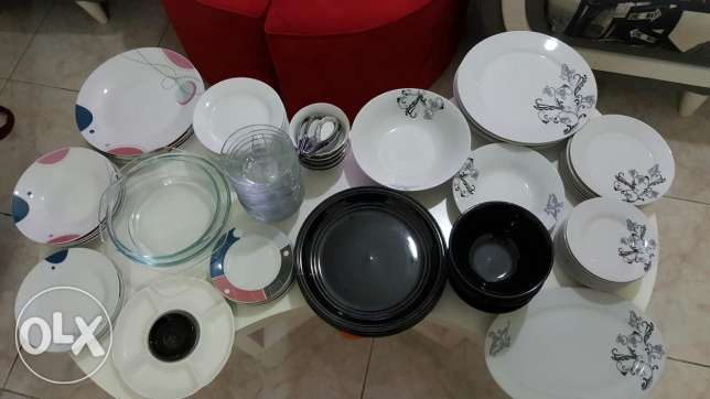 Cooking and dinner sets over 150 items جدة -  2
