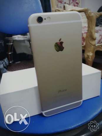 IPhone 6 gold,64GB with FaceTime & warranty