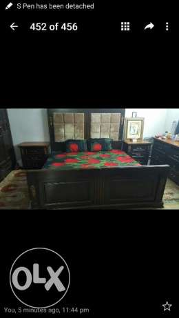 .. Bed room set of 5 pices